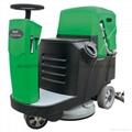大面积保洁用驾驶式洗地机
