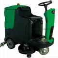 大麵積保潔用駕駛式洗地機