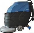 工厂环氧地面保洁用手推式洗地机