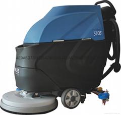 工廠環氧地面保潔用手推式洗地機