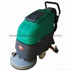 工廠用電動手推式洗地機