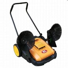 大麵積保潔用手推式掃地車