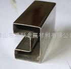 不锈钢方形凹槽管