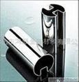 玻璃用不鏽鋼扶手管 1