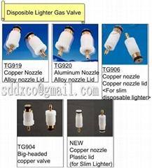 Nozzle Unit for Disposable Lighter