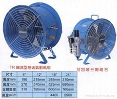 軸流氣動防爆風扇