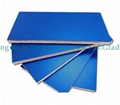 Blue HPL plywood