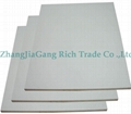 White HPL plywood