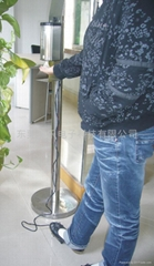 foot triggier sami-automatic hand sanitizer spray