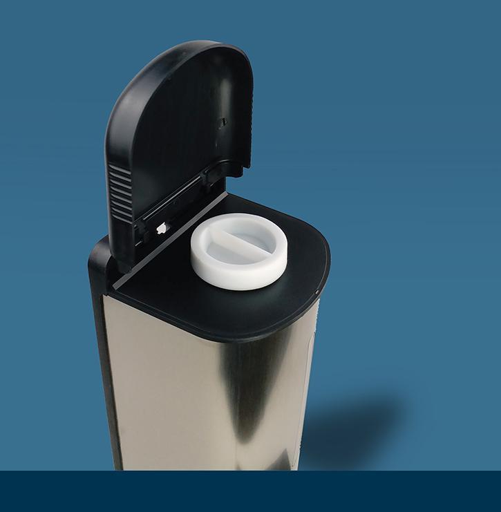 紅外線感應自動噴霧手部消毒機 1