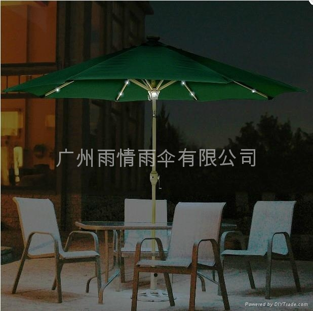 太陽能庭院傘.太陽能太陽傘 5