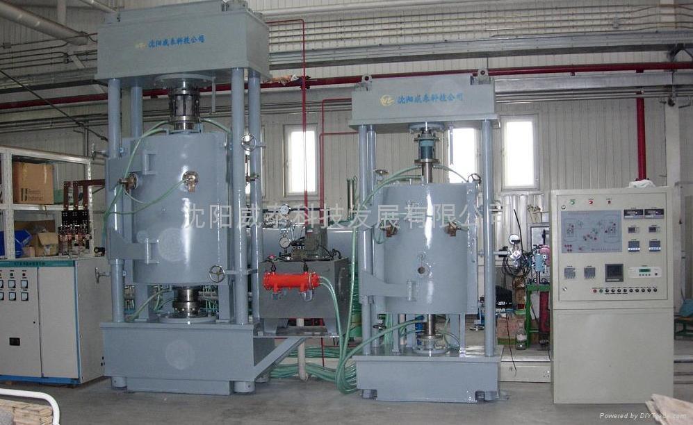 Vacuum Hot Press Furnace Vhp V Weitai China