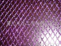 gold metallic mesh fabric