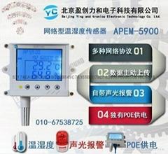 POE供電RJ45網絡型溫濕度傳感器
