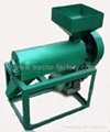 Wheat peeling machine