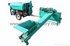Hydraulic cement foam machine