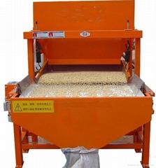 Legumes remove clods machine