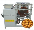 Broad bean shelling machine