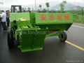 TRACTOR MOUNTED SQUARE CORN STALK BALER