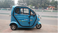Tricycle electric car wi