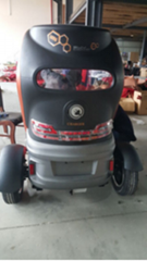 Tricycle electric car