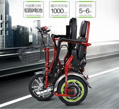 fASHION electric  folding and passenger Tricycle