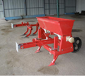 Fertilization seeder