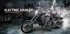 中国造电动哈雷摩托车