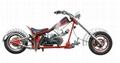 Spider man gasoline motorcycle