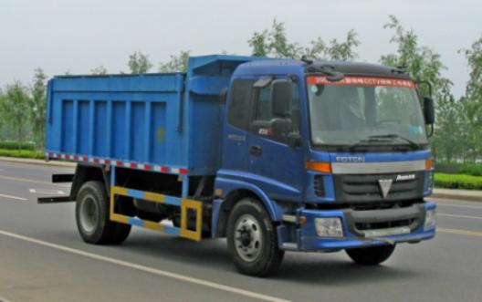dump garbage truck 1