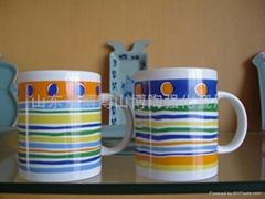 陶瓷杯 广告杯 促销杯 淄博陶瓷礼品杯
