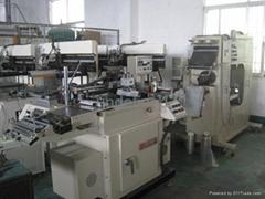 二手臺灣羅鐵3040全自動卷對卷絲網印刷機