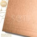 彩色不鏽鋼雪花砂板 2