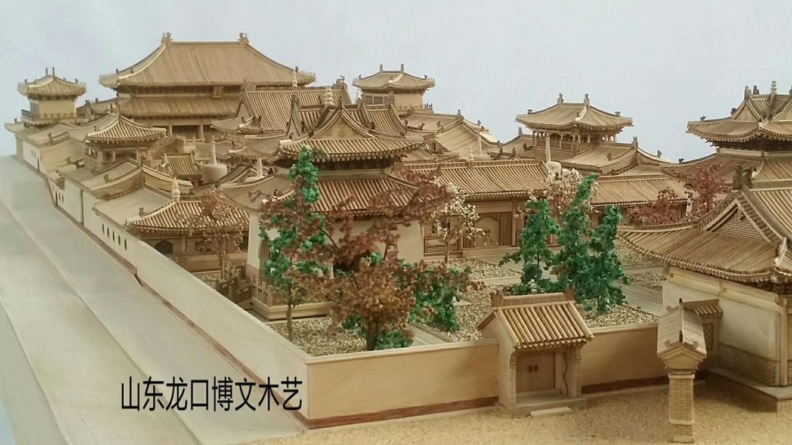 北京四合院模型 4