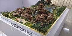 北宋艮岳园林沙盘博物馆定制模型