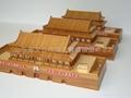 博物館沙盤故宮太和殿保和殿古建