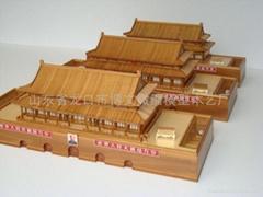 博物館沙盤故宮太和殿保和殿古建築模型