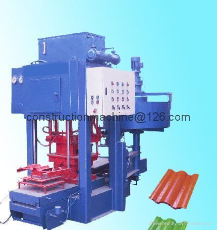 QT8-130T roof tile machine,cement tile machine,color tile machine 2
