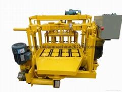 QT40-3 Mobile block machine,egg layer block machine,moving block machine