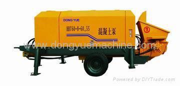 trailer concrete pump,concrete pump,stationary concrete pump