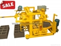 QT40-3 Concrete Moving Block Machine