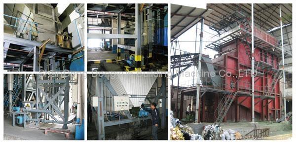 LC municipal solid waste incineration boiler  1