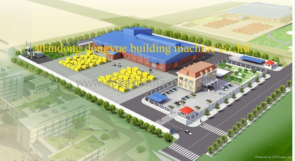 加气砖设备厂房效果图