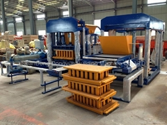 QT4-15C Hollow Block Machine,color brick machine,brick making machine