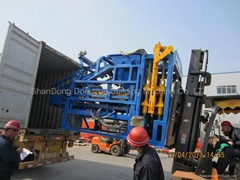 Automatic Hydraulic Fly ash Brick Machine