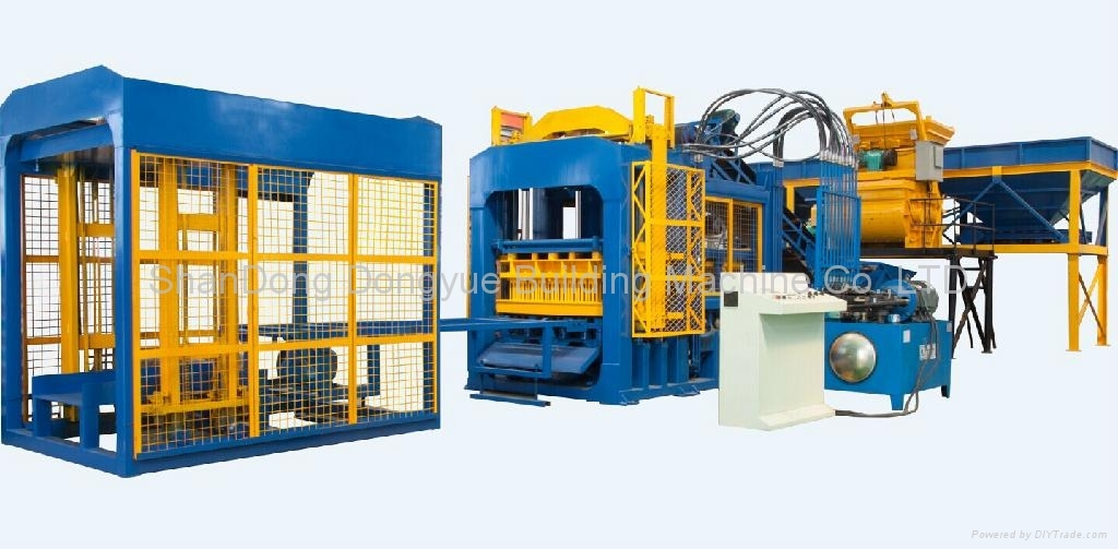 QT10-15 automatic block machine line