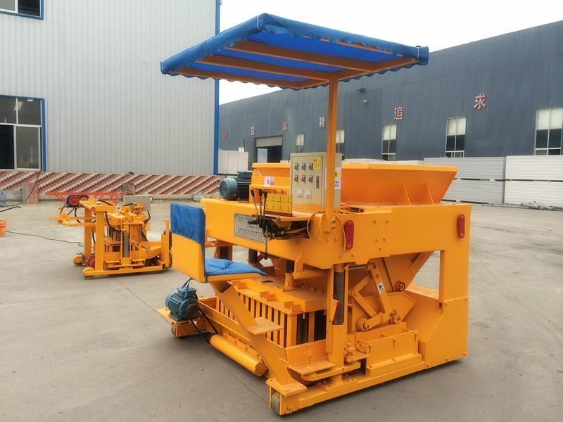 moving block machine,movable brick machine 2