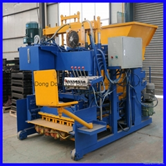 QTM10-15 movable block machine,egg layer block machine,mobile brick machine (Hot Product - 1*)