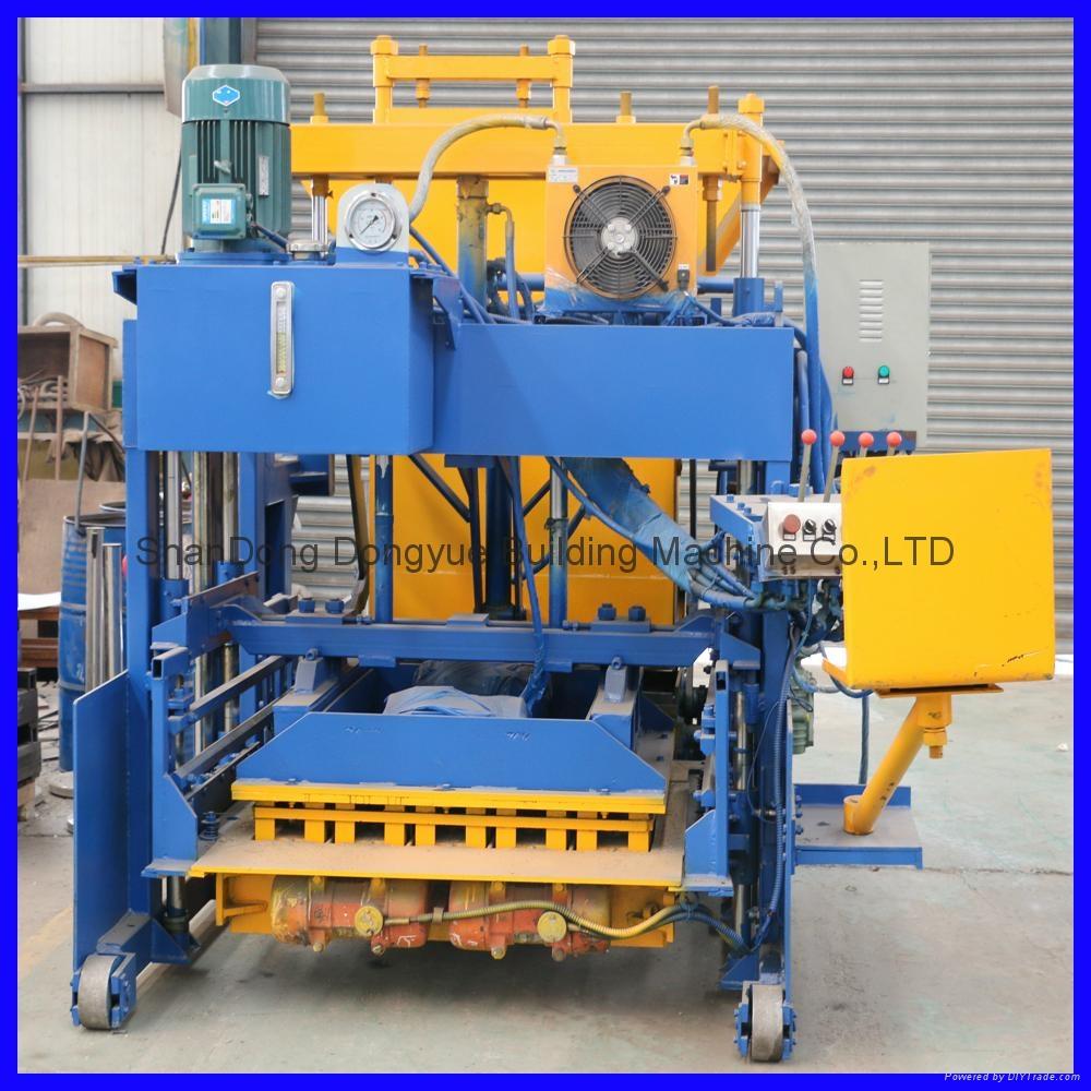 QTM10-15 移动式砖机,空心砖机 3
