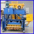 QTM10-15 movable block machine,egg layer block machine,mobile brick machine 3